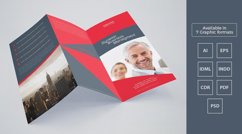 A4 Tri Fold Brochure Template Ai