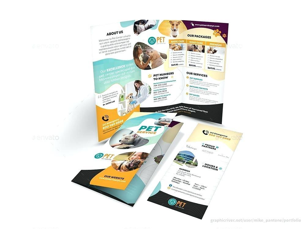 A4 Tri Fold Brochure Template Free Download