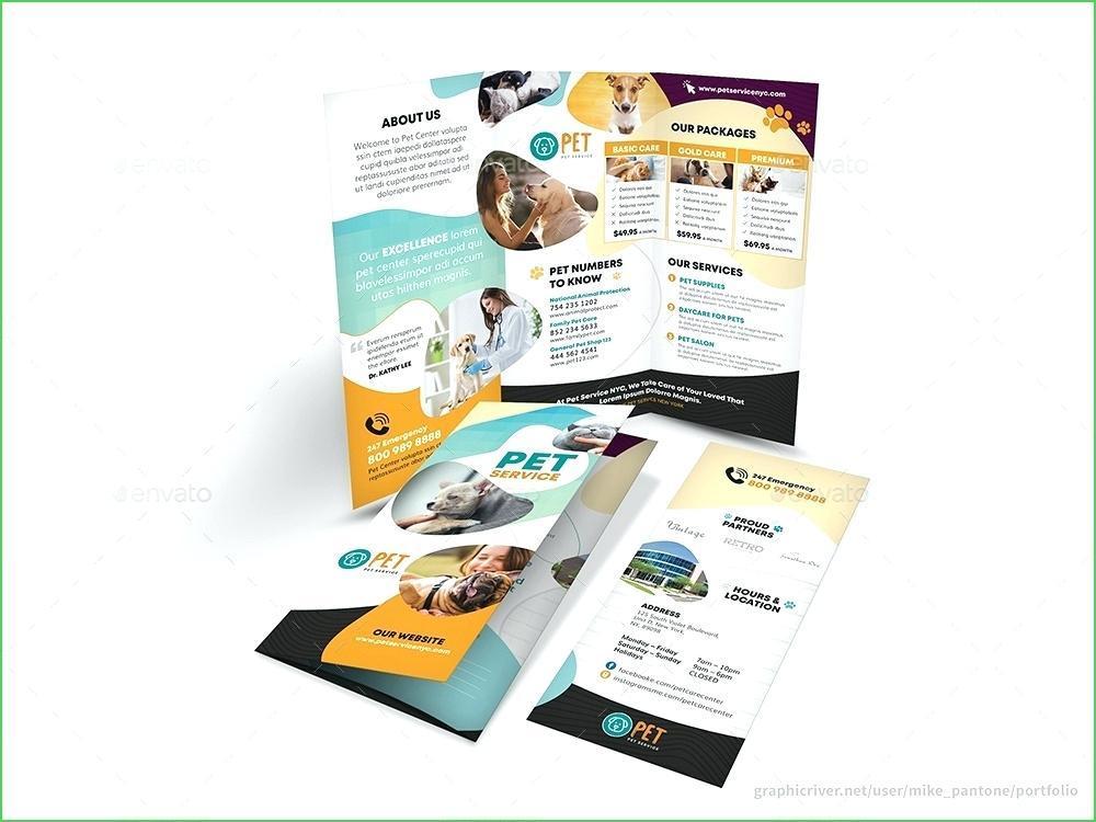 A5 Brochure Template Psd Free