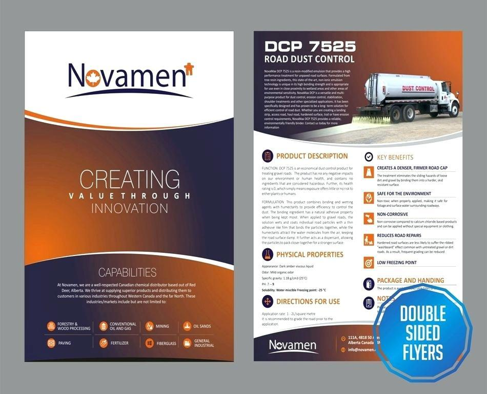 A5 Double Sided Flyer Template