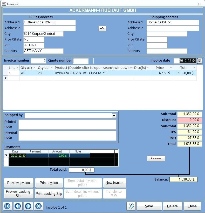 Access Crm Templates Free Download