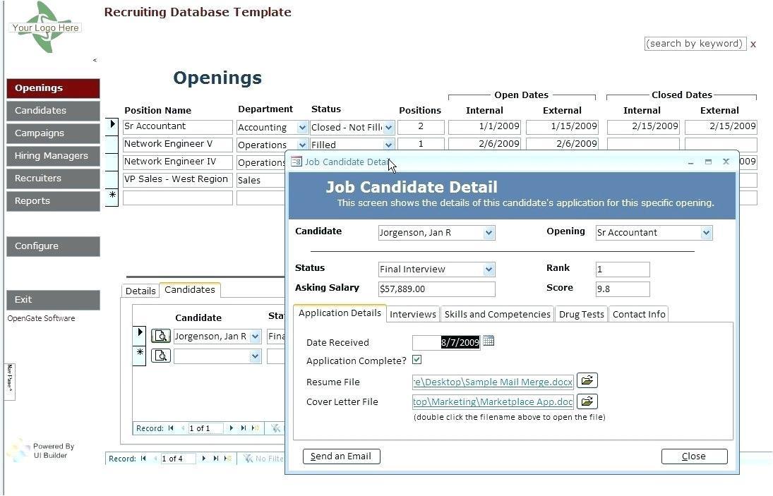 Access Employee Timesheet Template