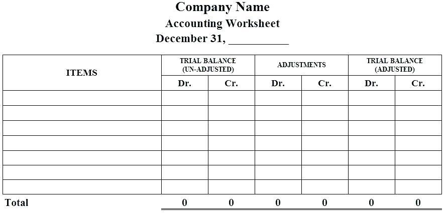 Accounting Balance Sheet Example Pdf