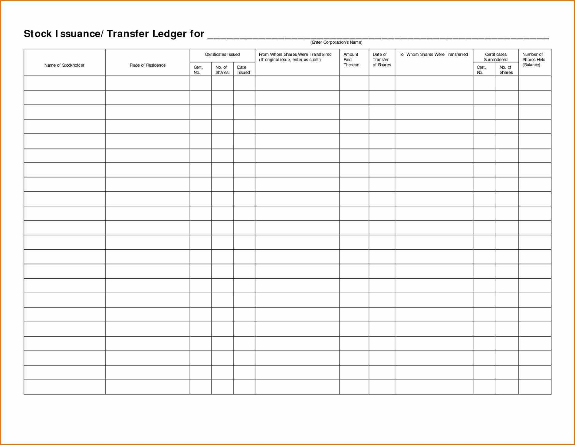 Accounting Ledger Database Template Access 2007