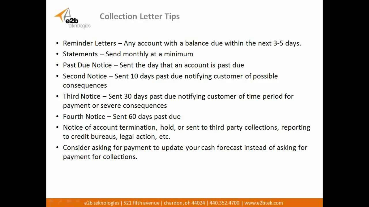 Accounts Receivable Credit Policy Templates