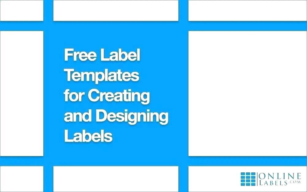 Address Label Sticker Template
