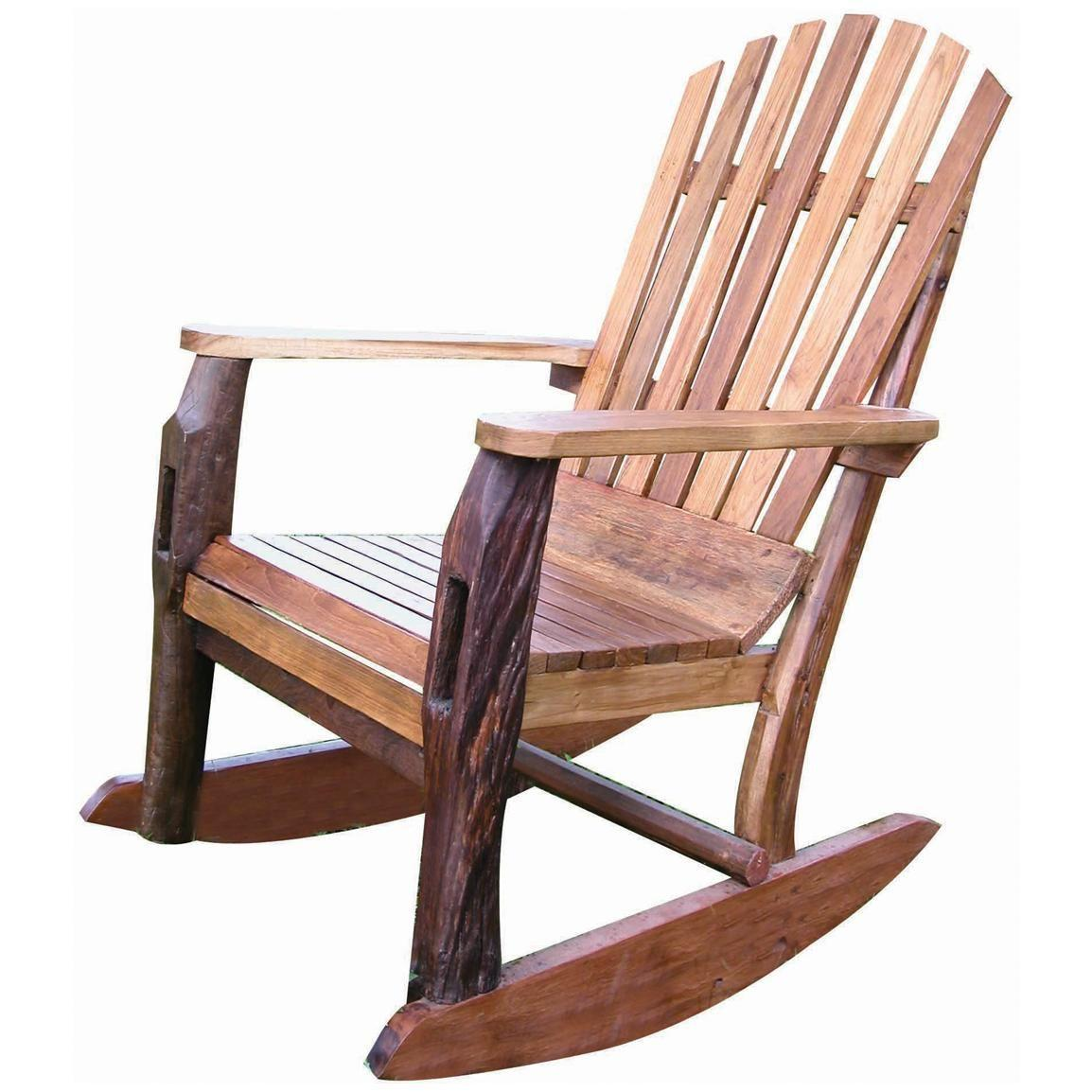Adirondack Rocking Chair Plans & Templates