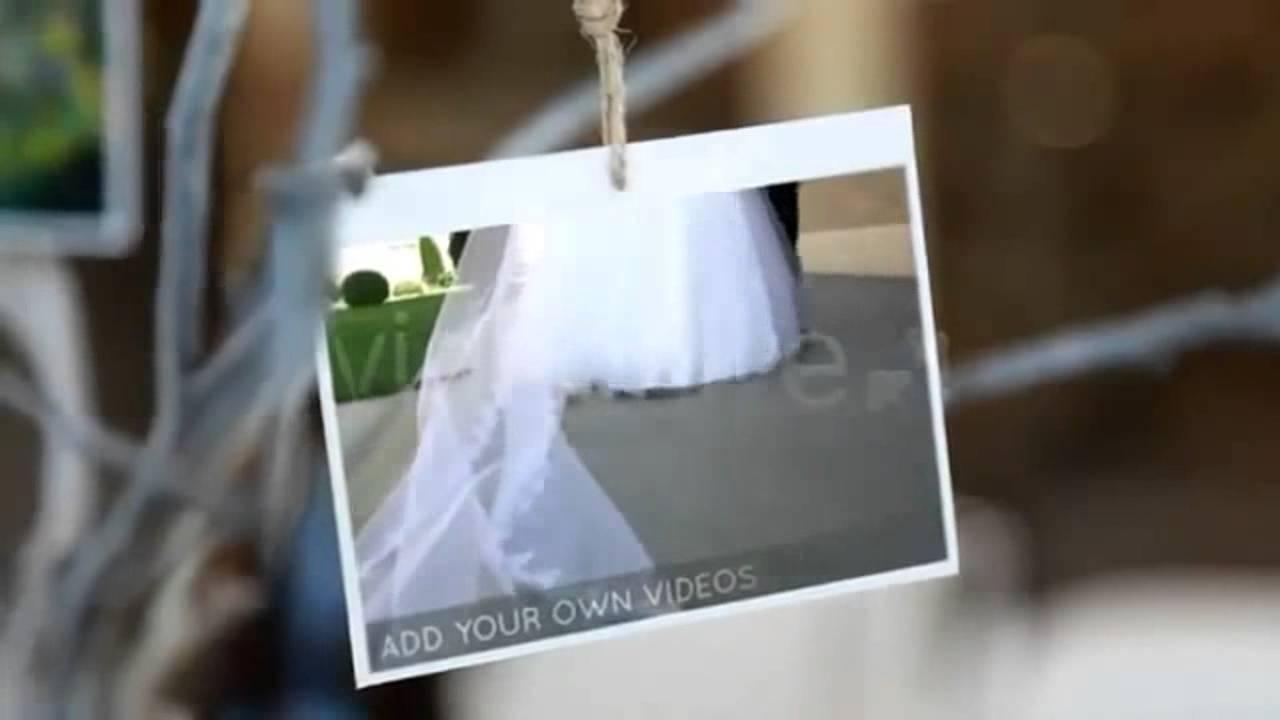 Adobe After Effect Wedding Template