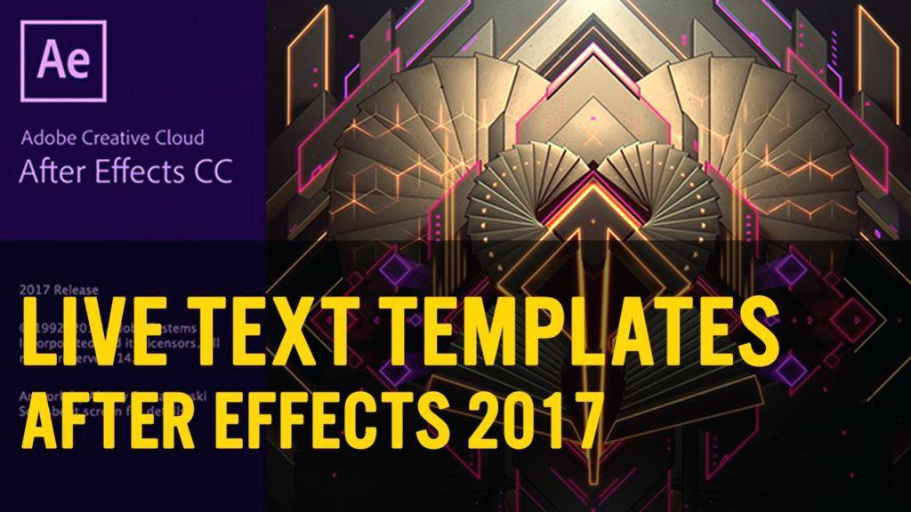 Adobe After Effects Cc 2017 Intro Templates