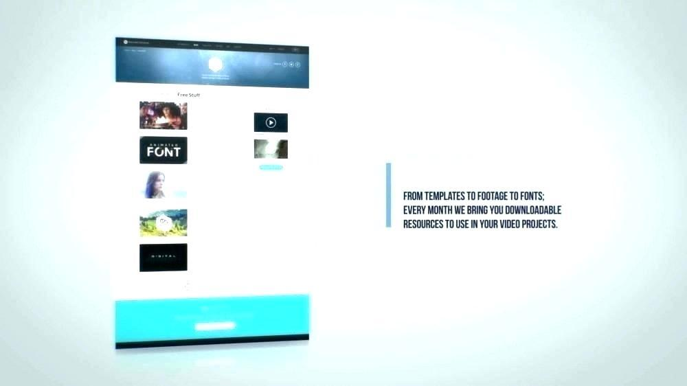 Adobe After Effects Presentation Templates