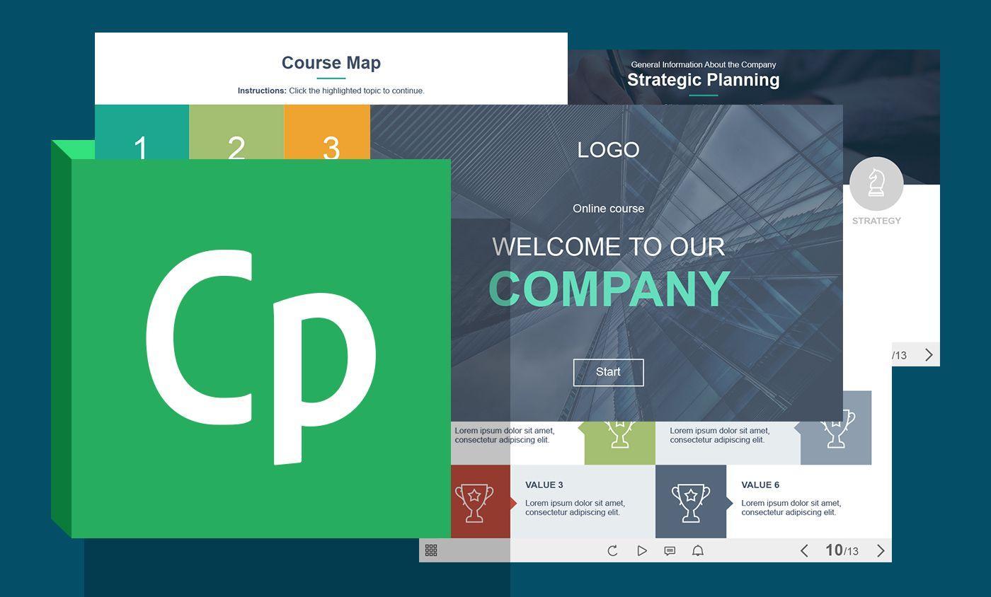 Adobe Captivate Elearning Templates