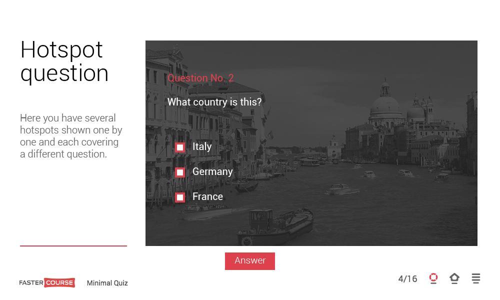 Adobe Captivate Quiz Templates