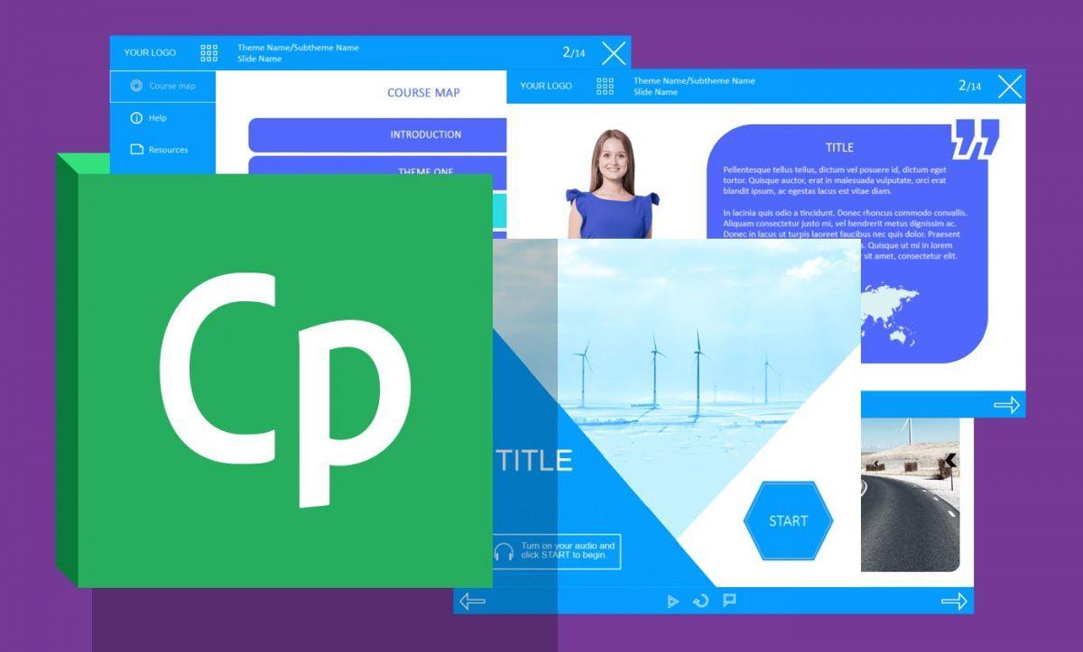 Adobe Captivate Template