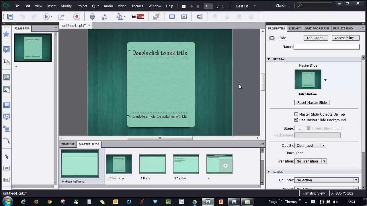 Adobe Captivate Themes
