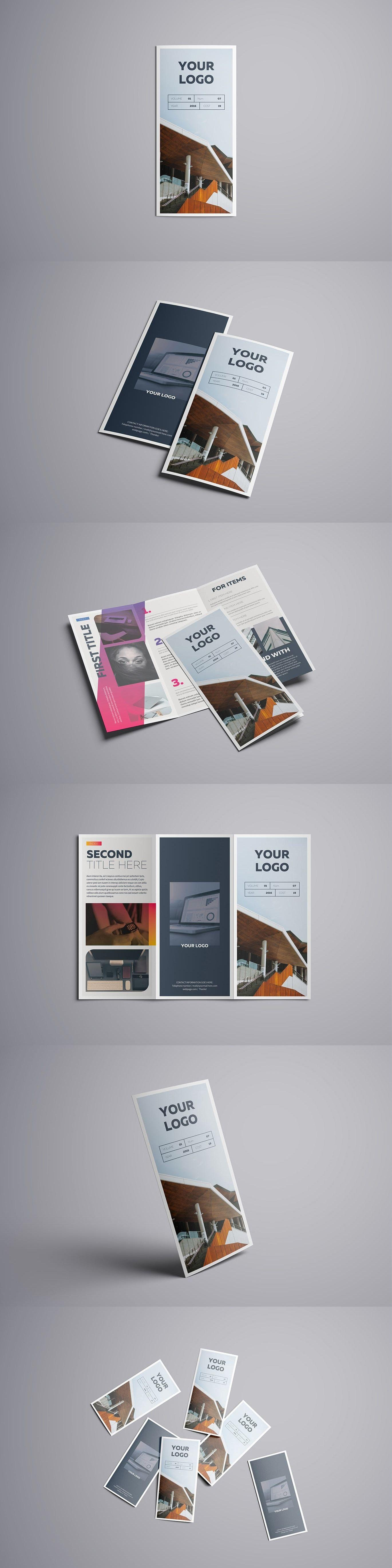 Adobe Illustrator A4 Brochure Templates