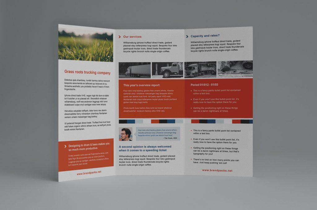 Adobe Illustrator Brochure Template Free