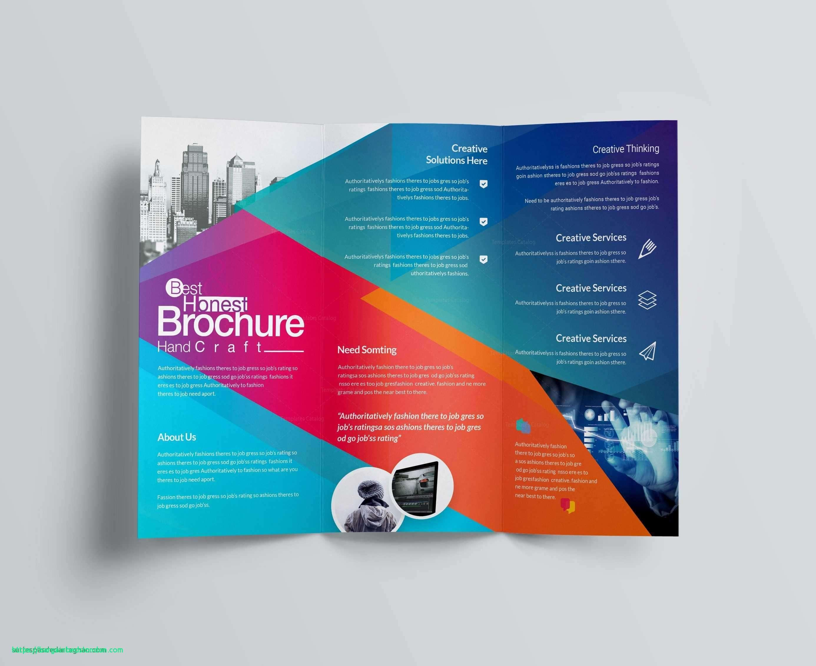 Adobe Illustrator Brochure Templates Download