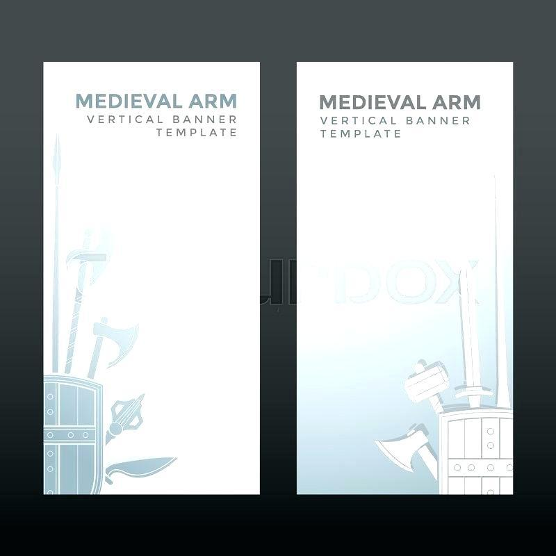 Adobe Illustrator Vertical Banner Templates