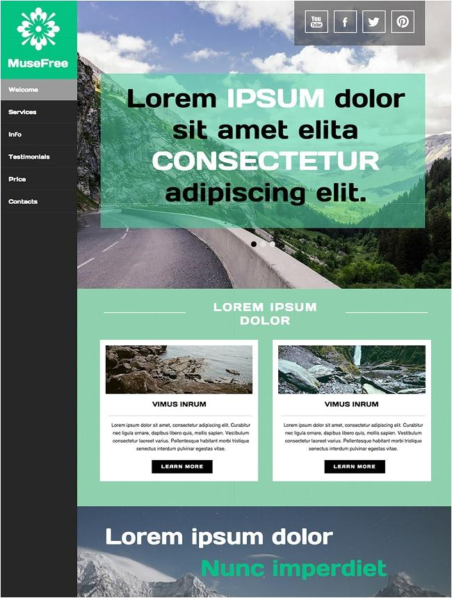 Adobe Muse Cc Templates Download