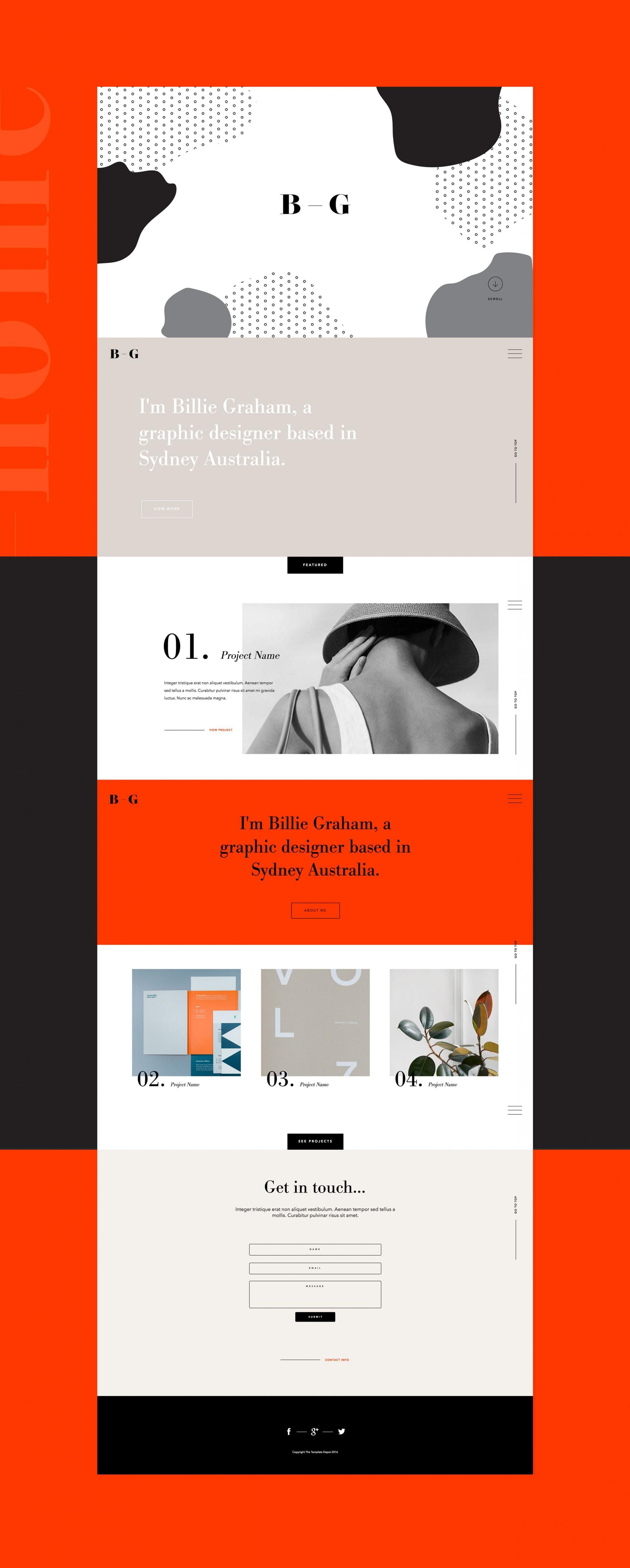 Adobe Muse Responsive Website Templates