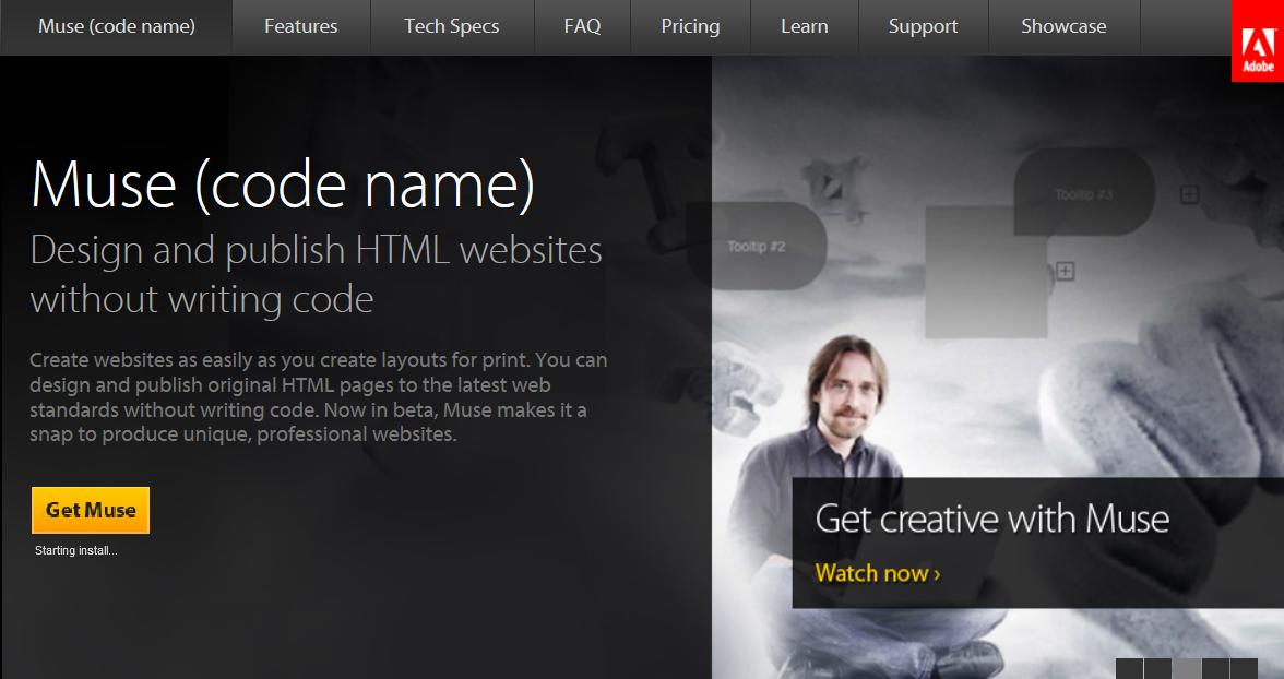 Adobe Muse Websites Templates