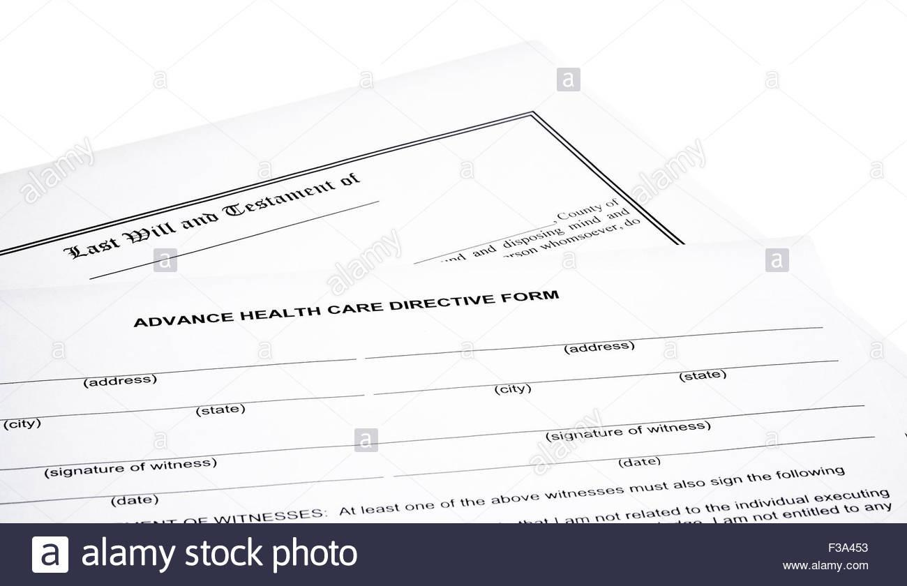 Advance Health Directive Template
