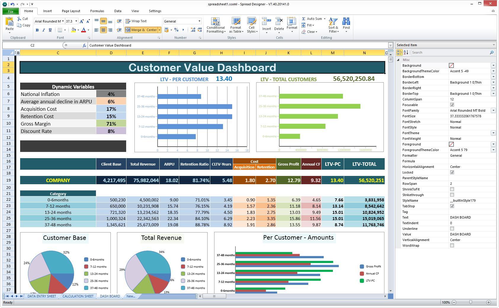Advanced Excel Spreadsheet Templates