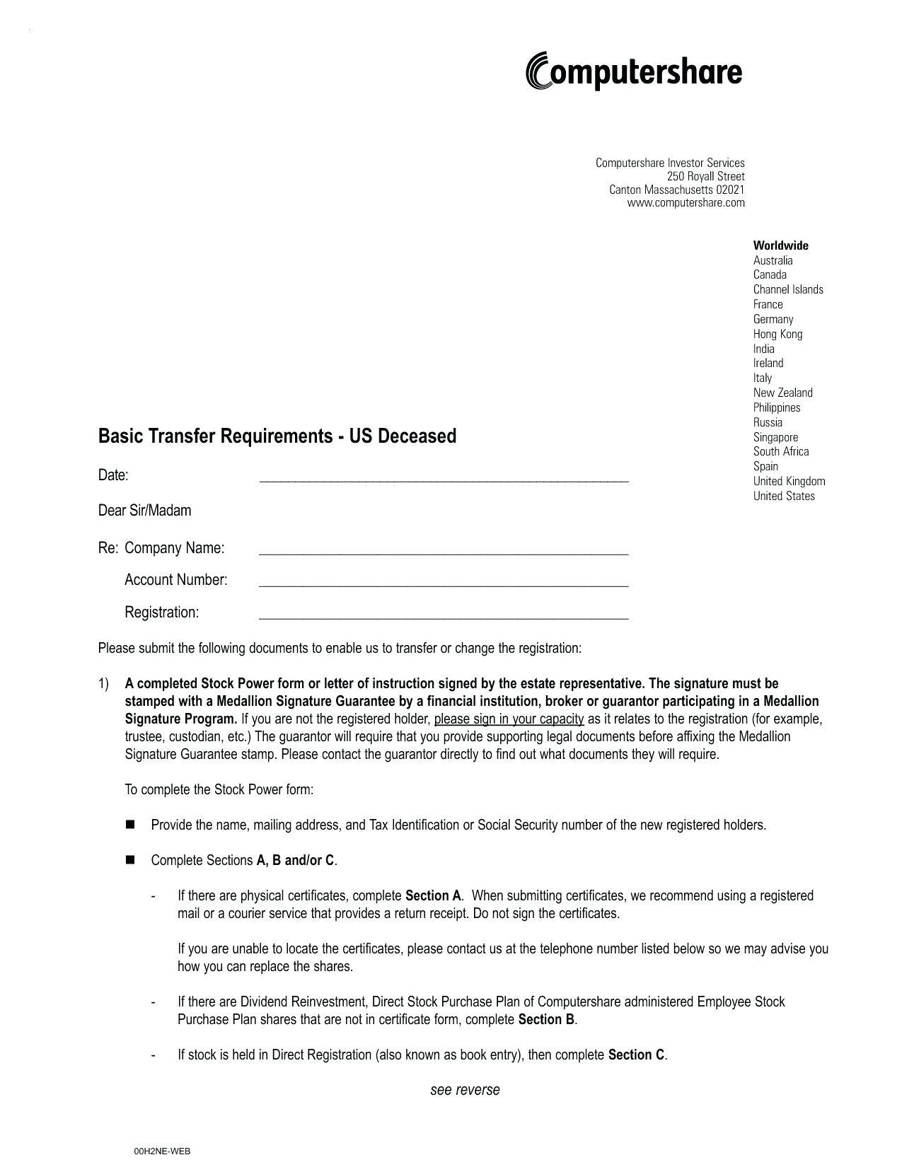 Affidavit Of Loss Word Template