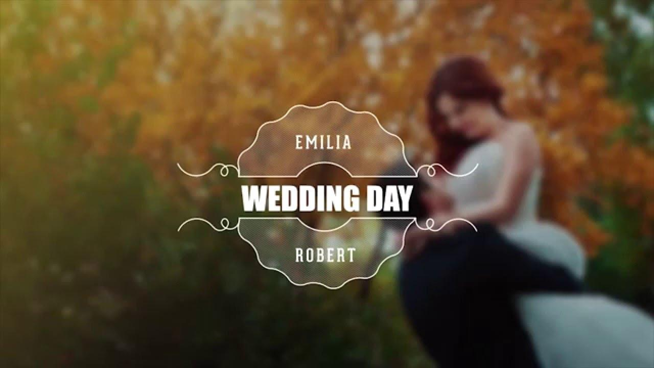 After Effect Wedding Title Template
