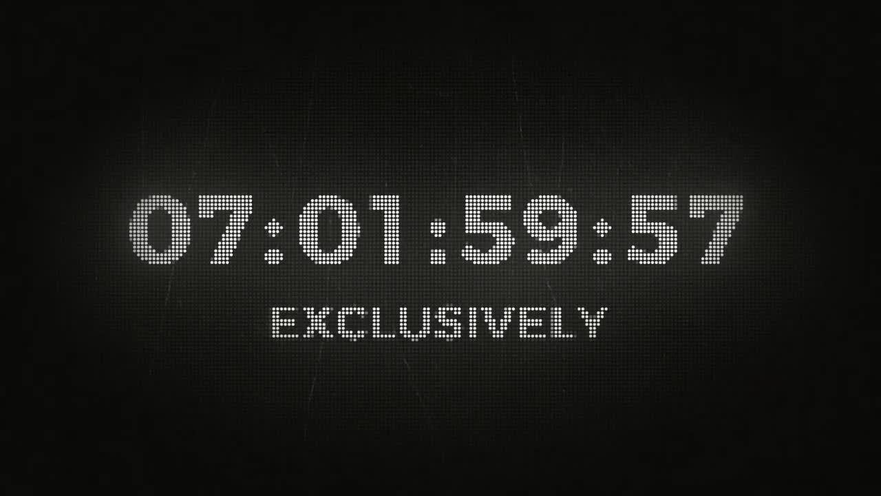 After Effects Countdown Template Free