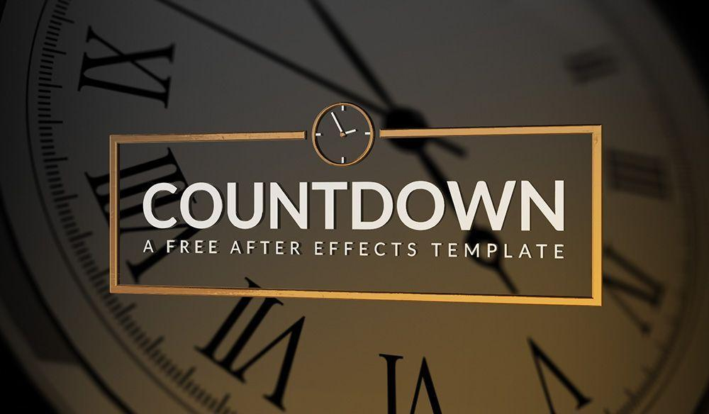 After Effects Countdown Templates