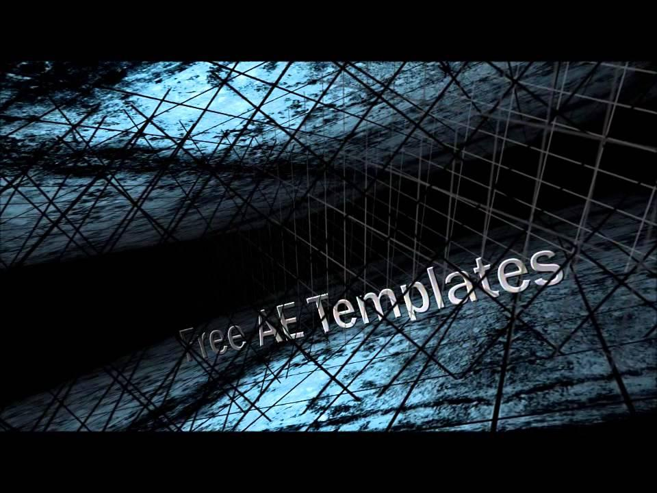 After Effects Cs5 Templates Free