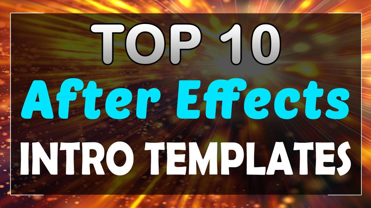 After Effects Cs6 Intro Templates No Plugins