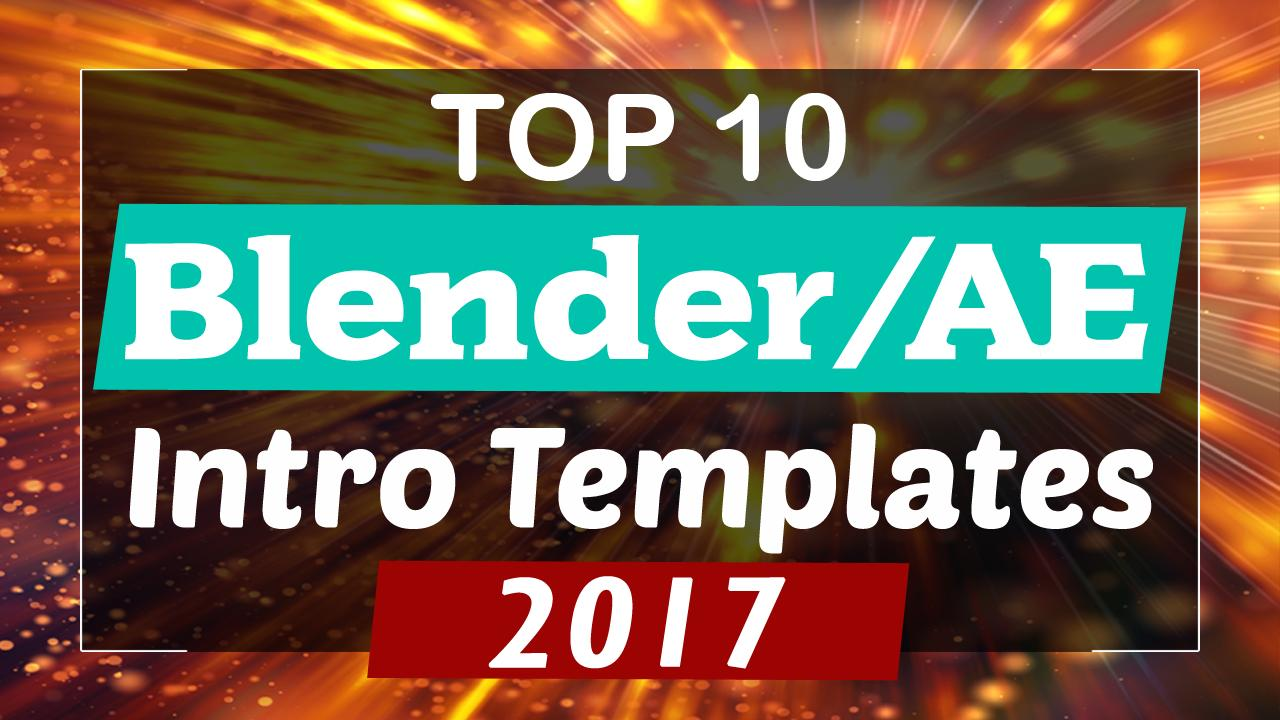 After Effects Intro Templates 2017