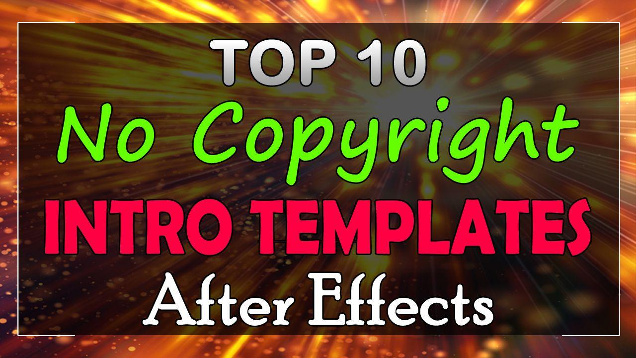 After Effects Intro Templates No Plugins