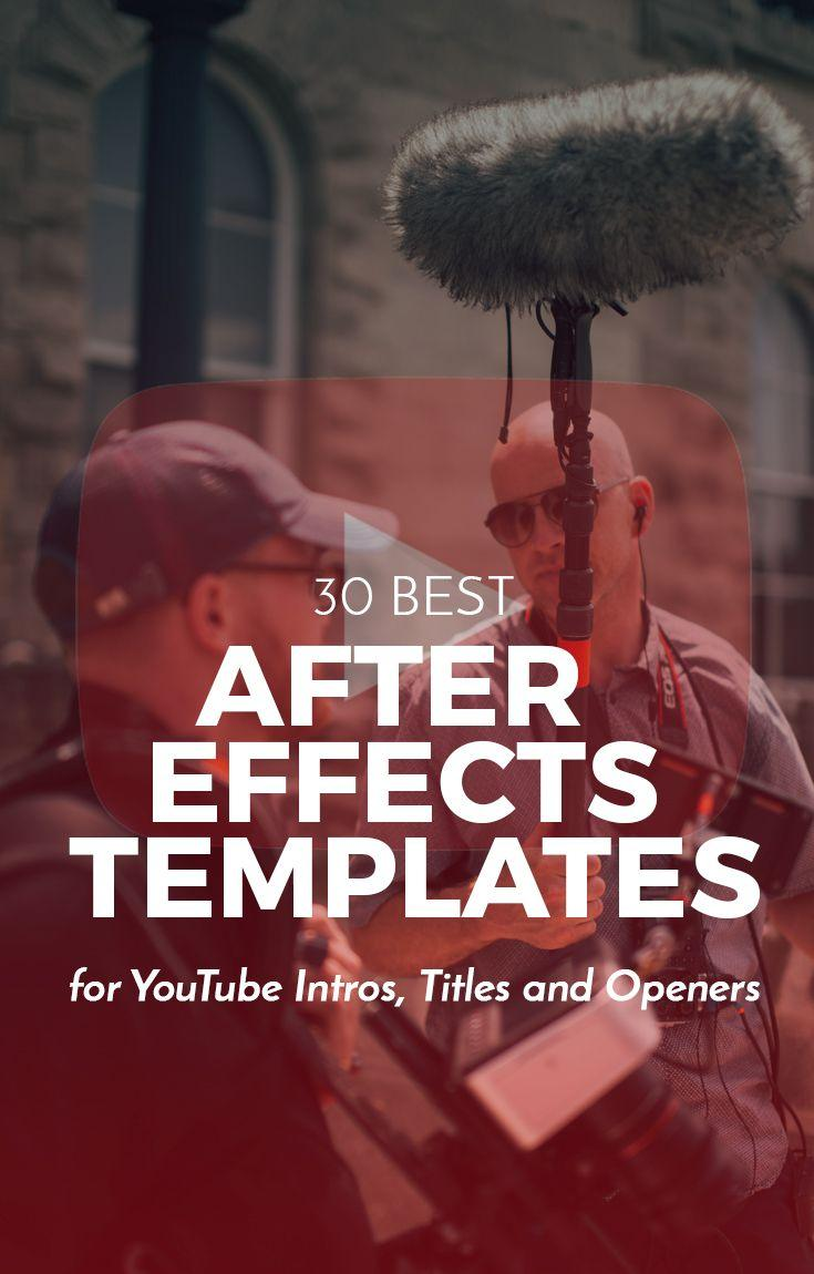 After Effects Intros Templates