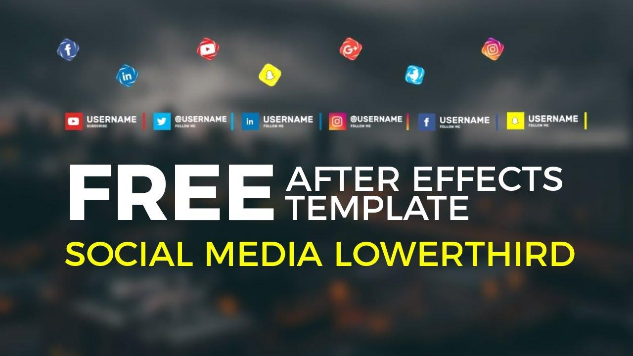 After Effects Lower Third Templates