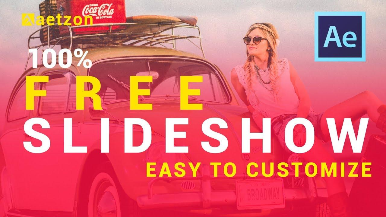 After Effects Slideshow Templates Free Download
