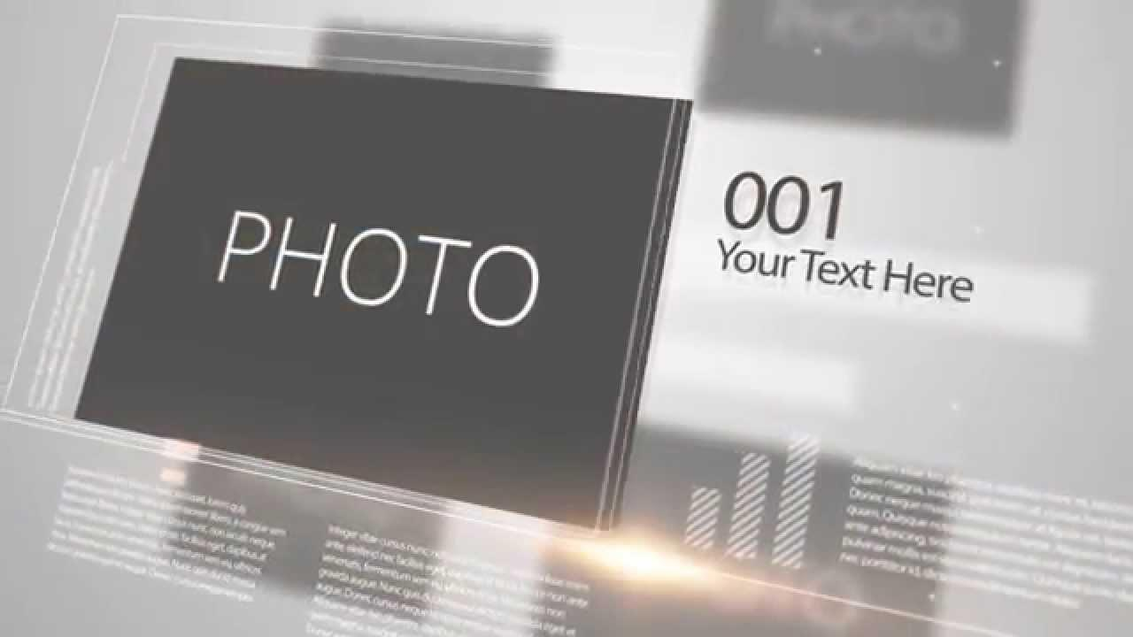 After Effects Templates Slideshow