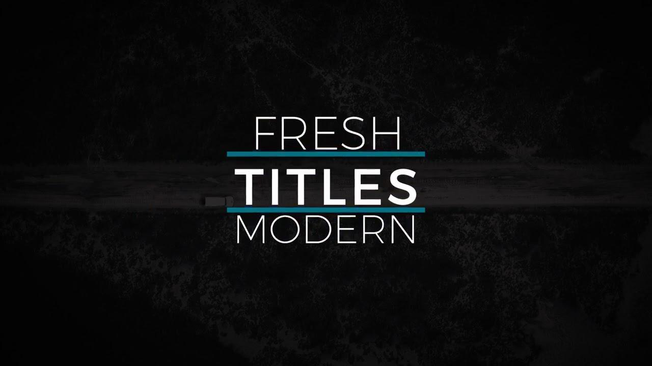 After Effects Templates Titles