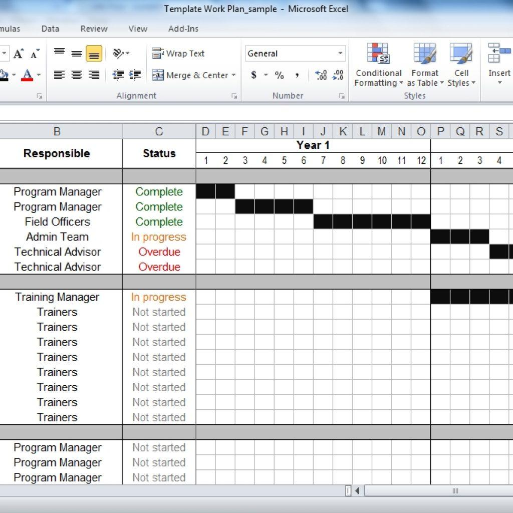 Agile Project Management Plan Excel Template