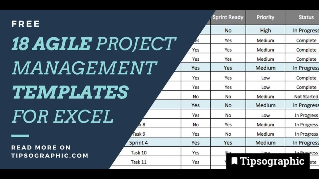 Agile Project Management Plan Templates