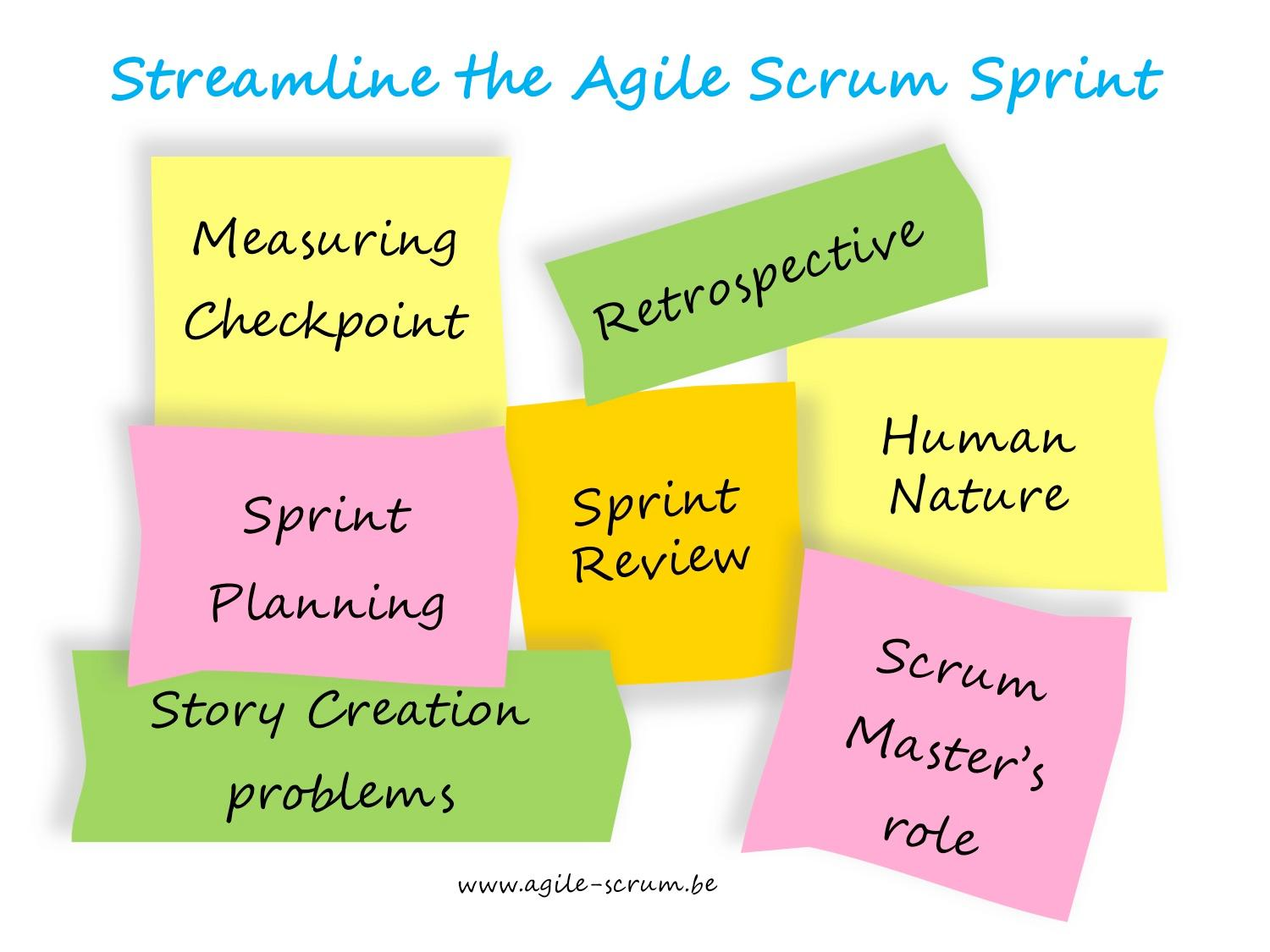 Agile Scrum Retrospective Template