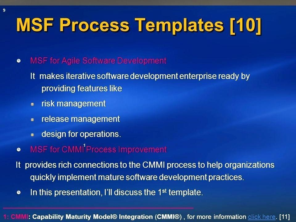 Agile Software Specification Template