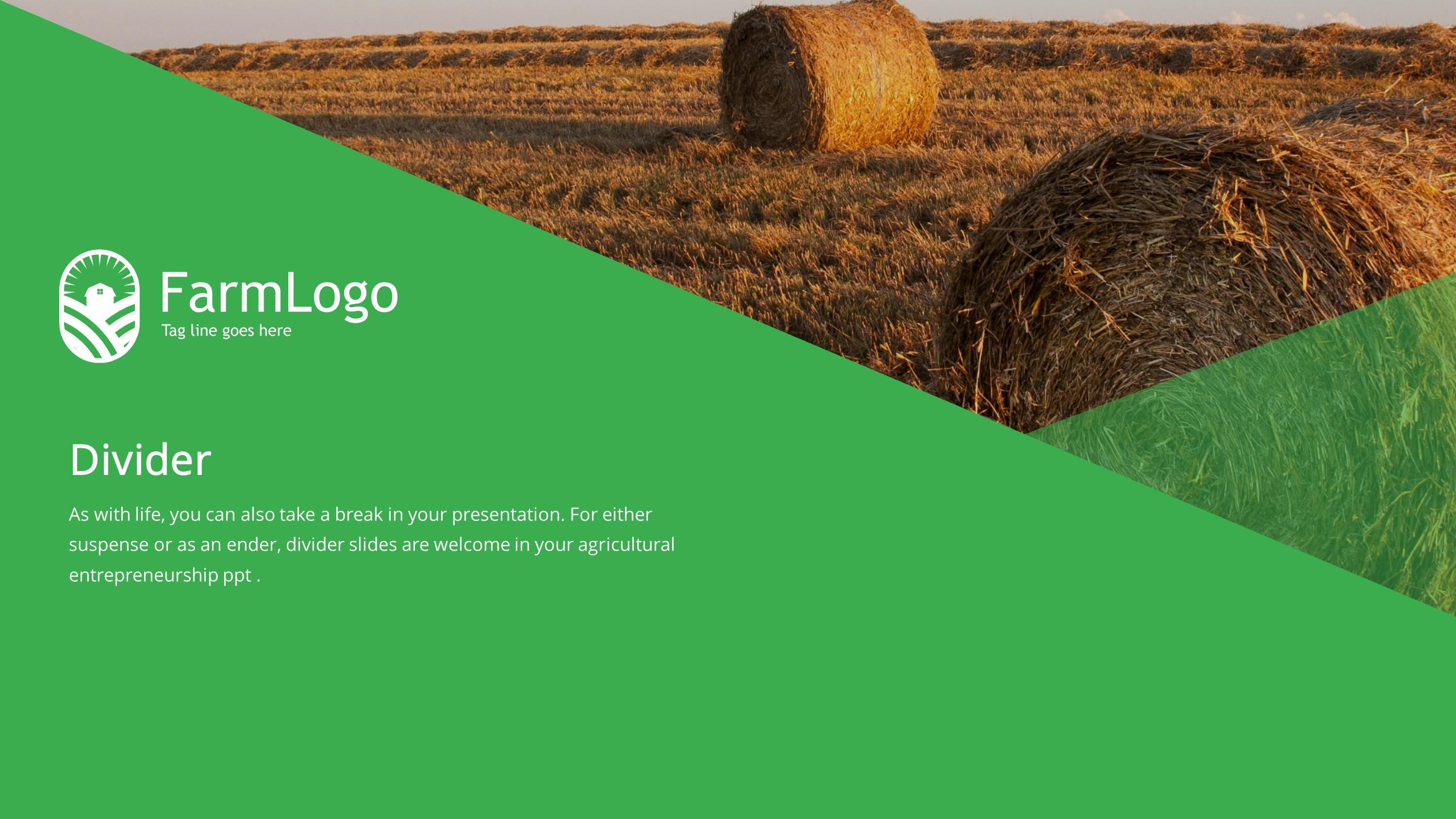 Agriculture Powerpoint Presentation Templates Free Download