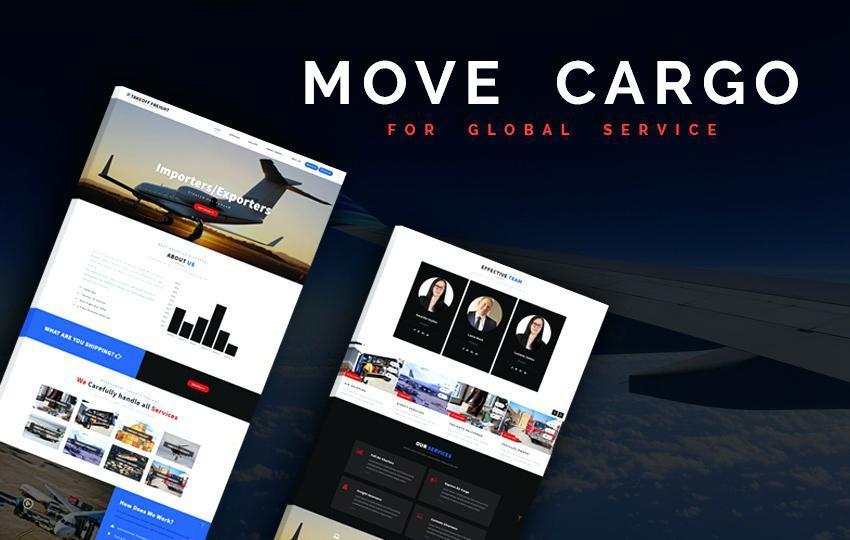 Air Cargo Website Templates