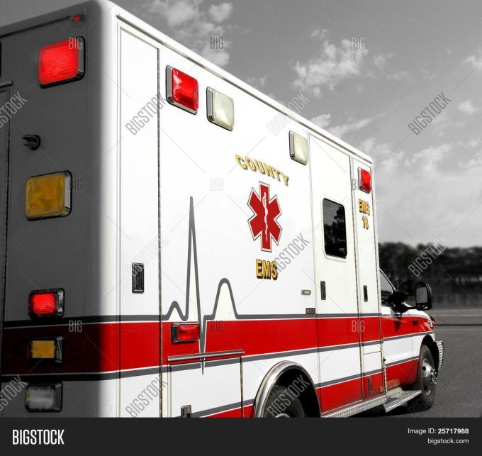 Ambulance Service Powerpoint Template