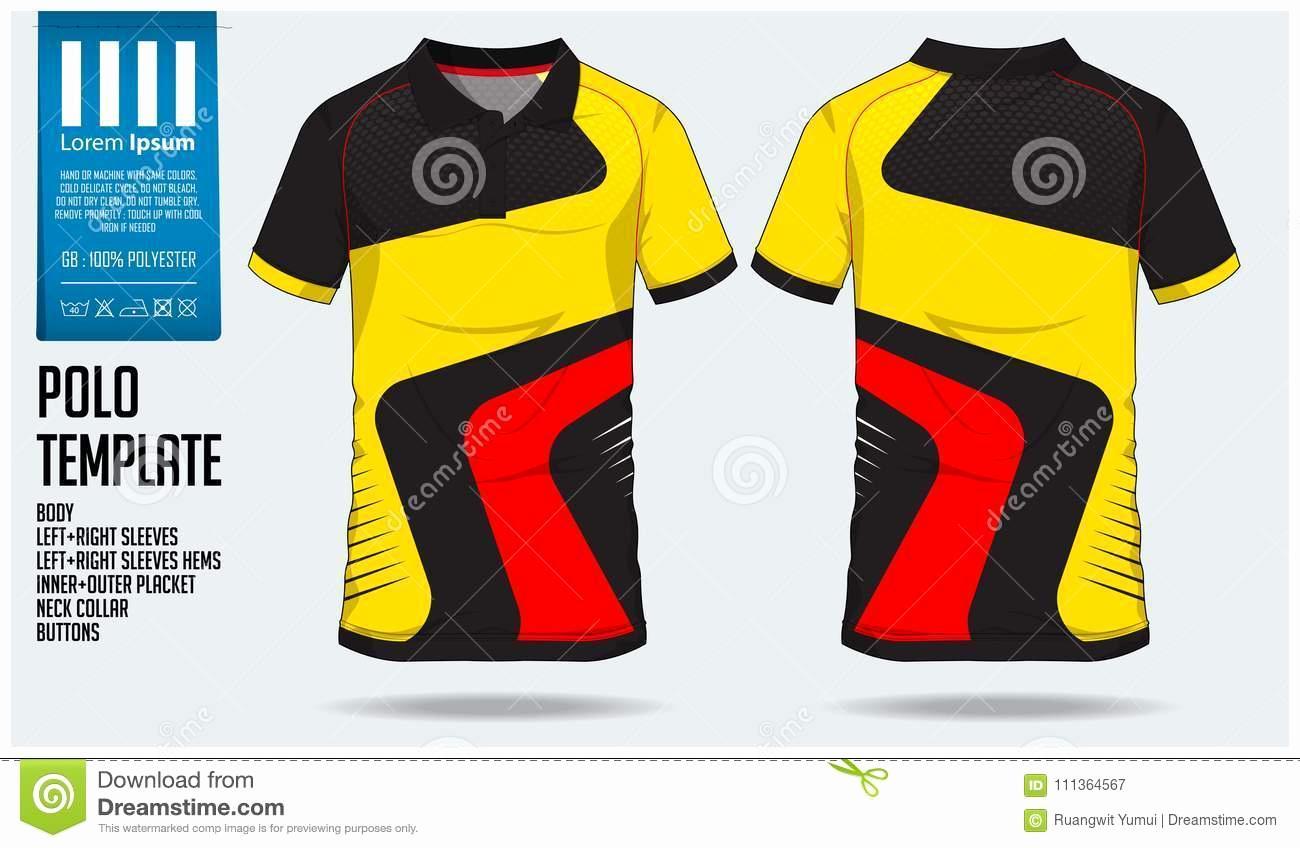 American Football Jersey Design Template