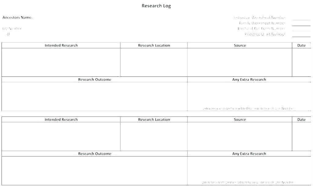 Ancestry Chart Template Word