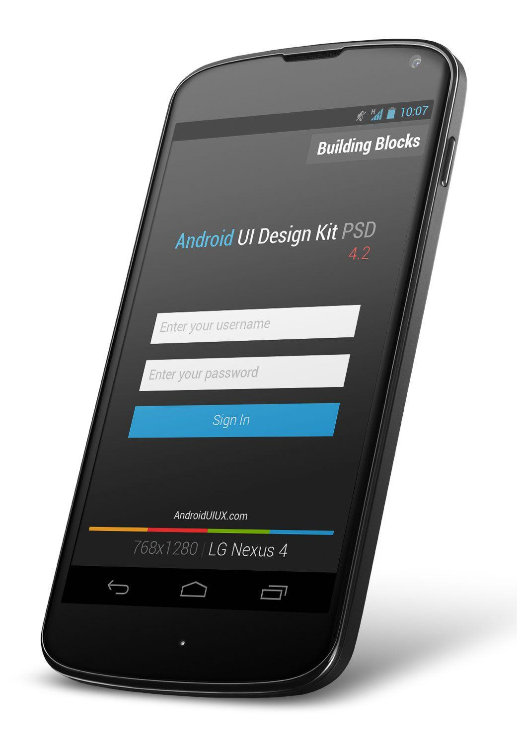 Android App Ui Kit Psd